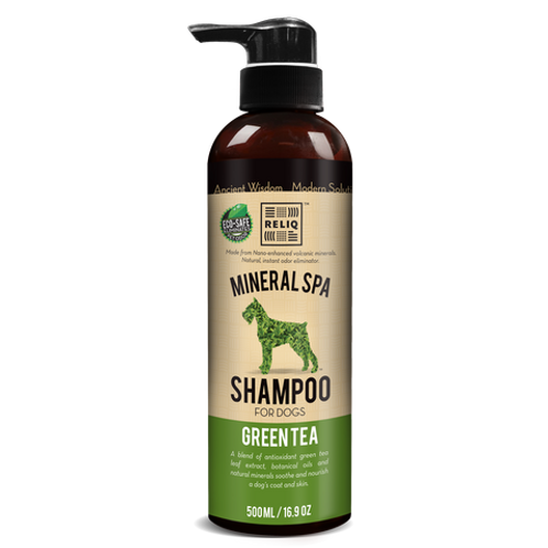 Reliq Mineral Spa Dog Green Tea Shampoo 500ml