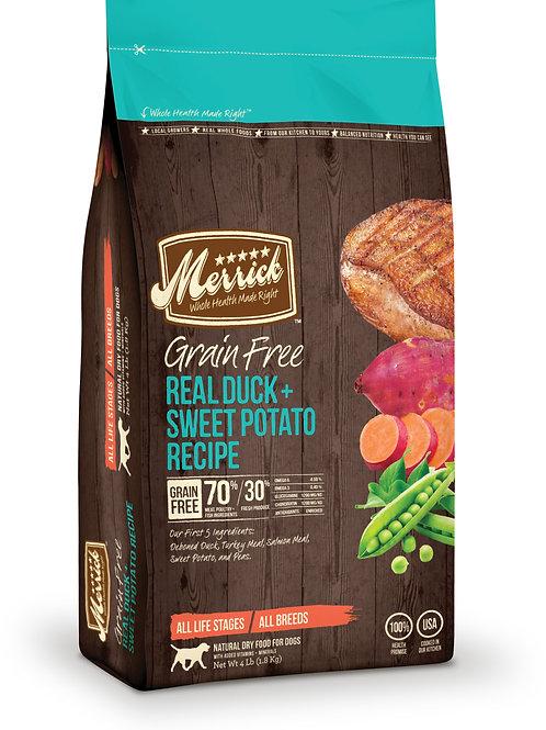Merrick Grain Free Duck With Sweet Potato