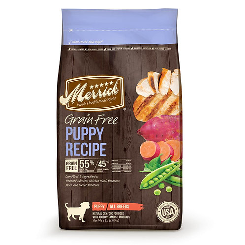 Merrick Grain Free Puppy Recipes