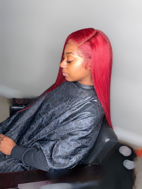 NATURAL BLONDE LACE FRONTAL WIG