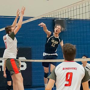 volleyball masculin 2018 (Christian Gagnon photo)