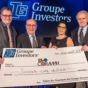 CORAMH- Salon des Gourmet Groupe investors