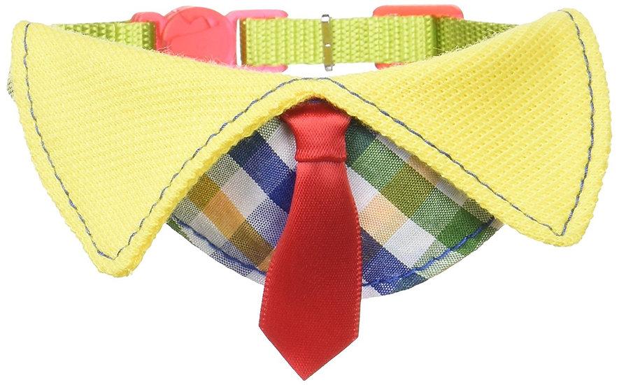 Ошейник с галстуком. Красный.