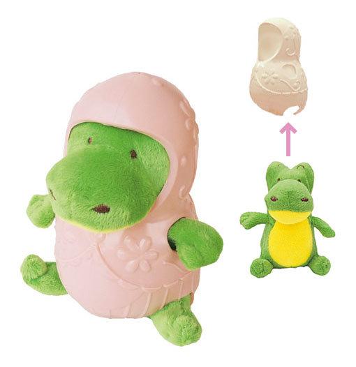 """Бронированная плюшевая игрушка """"Крокодил"""""""