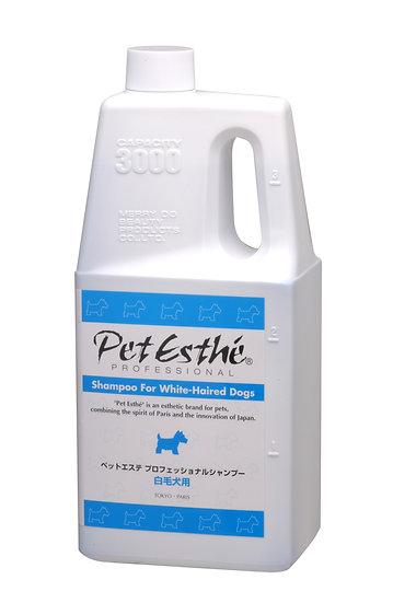 Профессиональный шампунь PetEsthé для собак с белой шерстью