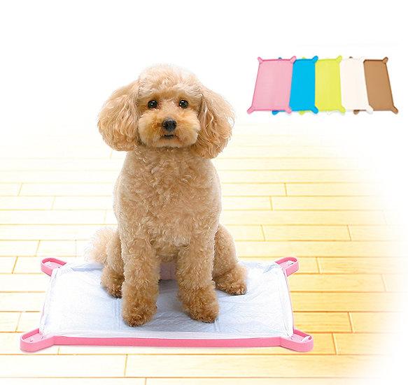 Силиконовый коврик-лоток для собачьих пелёнок с бортиком. Средний.