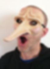 masque commedia del'arte scaramouche