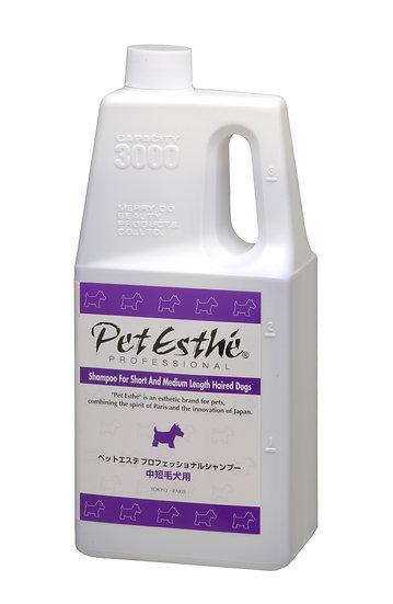 Профессиональный шампунь PetEsthé для собак со средней и короткой шерстью