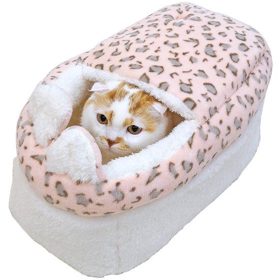 Теплая кроватка  для кошек «Зайка»