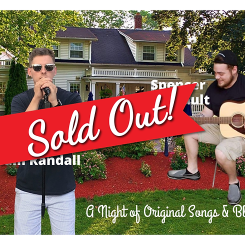 SOLD OUT!! LIVE Concert - Original Songs & Blues