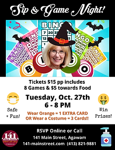 Oct 27th Game Night