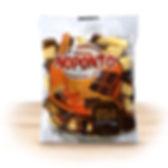 Doces NOPONTO - Doce de leite com chocolate em pedaços 200 g