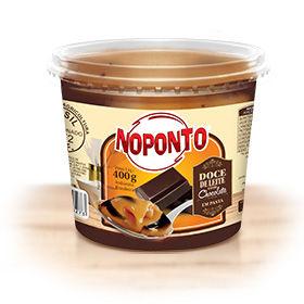 Doces NOPONTO - Doce de leite com chocolate em pote 400 g