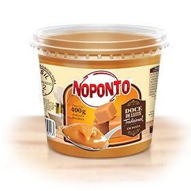 Doces NOPONTO - Doce de leite tradicional em pote 400 g