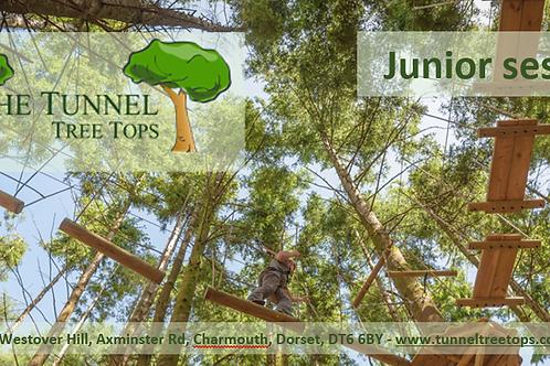 Tunnel Tree Tops voucher (junior)