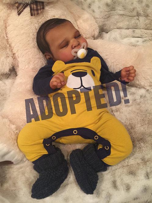 Baby Zion Michael -AKA Ramsey by Cassie Brace