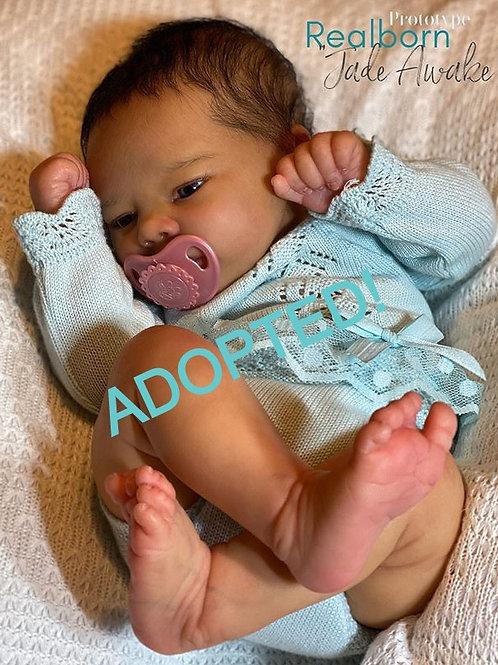 """Prototype """"Realborn Jade Awake"""" By Bountiful Baby"""