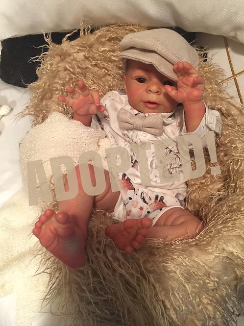Baby Evan Michael - Anthony by Laura Tuzio Ross