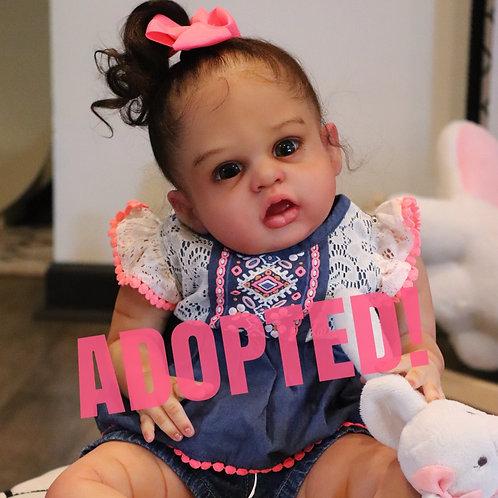 Baby Teagan Joy -aka- Mae Louise by Alicia Toner