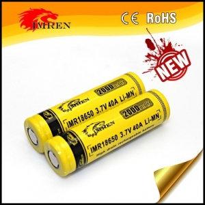 Аккумулятор IMREN 18650 в ассортименте