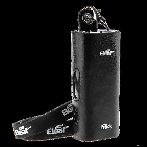 Кожаный чехол для Eleaf iCare 2 - iStick 20W/30W ( Черный )
