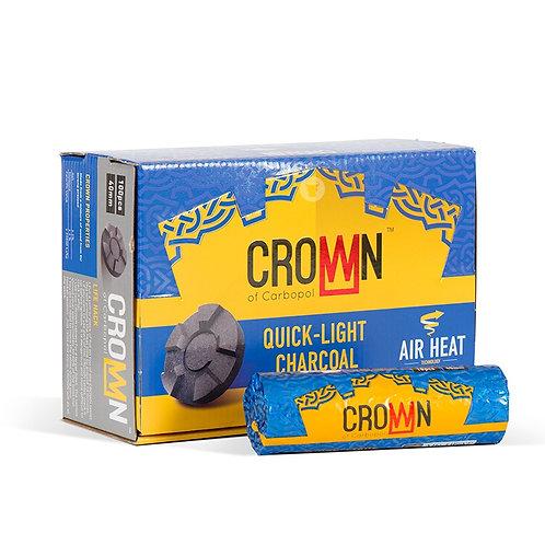 Уголь кальянный CROWN (Краун) 10 таб 40 мм