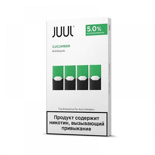 Картриджи Juul в ассортименте ( 0.7мл ) 50мг (упаковка 4шт)