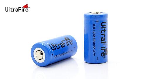 Аккумулятор UltraFire 16340, 880mAh, 3.7V