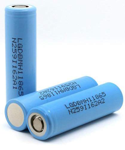 Аккумулятор LG INR 18650 MH1 3.7V 3200 mAh (10A) незащищенный (Оригинал)
