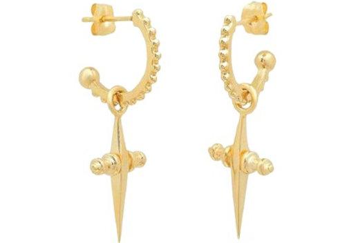 Sofia Cross Earrings