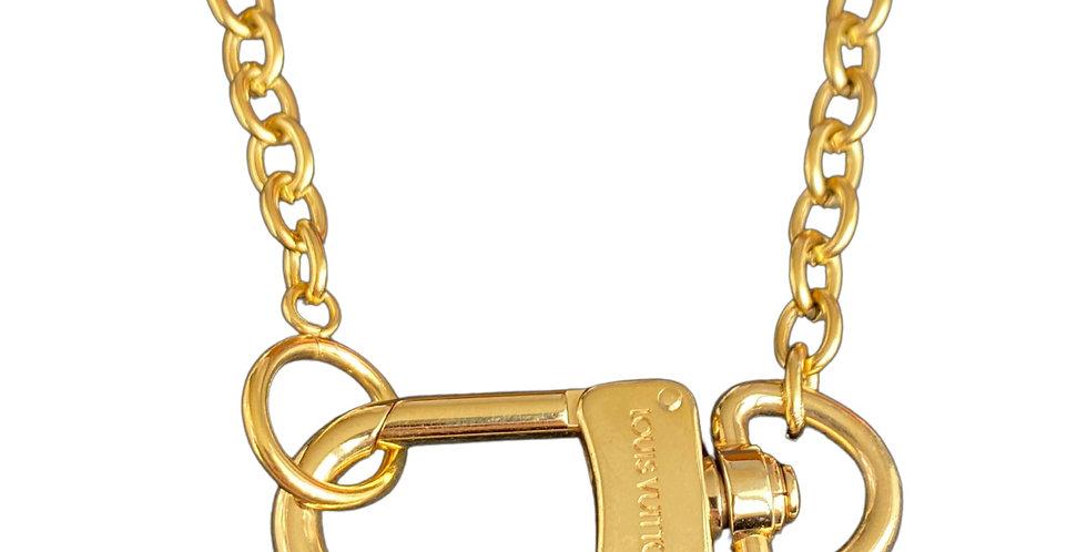 Authentic Louis Vuitton Connector - Repurposed Necklace
