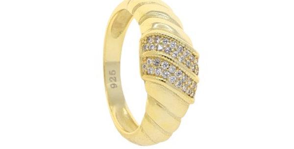 Hera Diamond Croissant Ring
