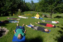 Yoga du Fjord, Cours, Retraites