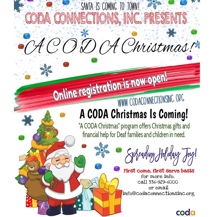 A CODA CHRISTMAS!