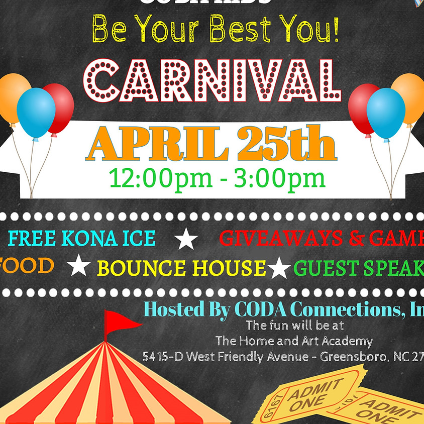 CODA Kids Carnival-Be Your Best You!