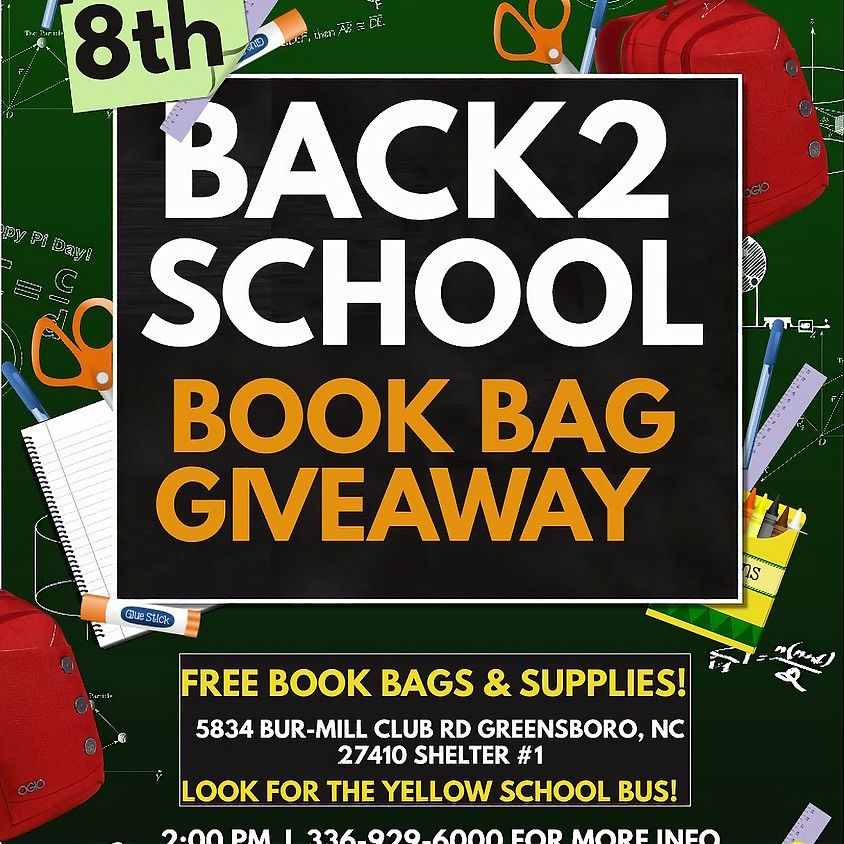Back To School Backpack and Supply Giveaway!