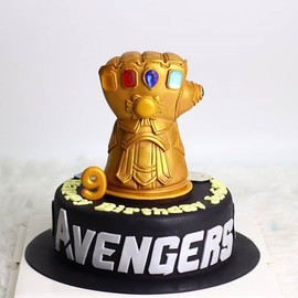 Thanos's gloves are here!. Happy birthda