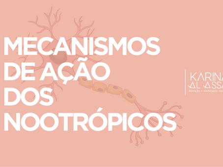 Nootrópicos - Mecanismo de Ação