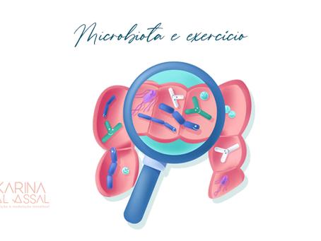 Microbiota e exercício físico - uma via de mão dupla