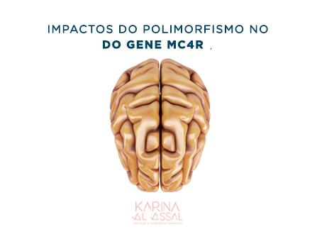 Quais são os impactos do polimorfismo no gene MC4R?