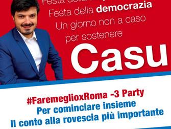 #faremeglioxRoma -3 Party