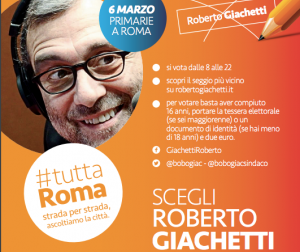 Perché voto Roberto Giachetti