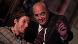Michael Stuart and Aaron Johnson in 'Orphans' by Lyle Kessler