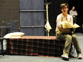 Designing alumna comes full circle with UE's 'Cripple of Inishmaan'