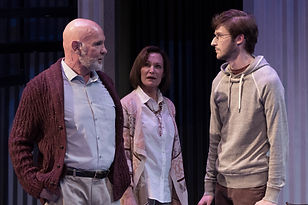 Mitch Pileggi, Babs George and Aaron Johnson 'Tribes' Zach Theatre