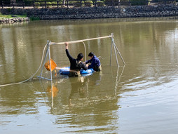 「桜田の堀」循環水発生ファンの設置