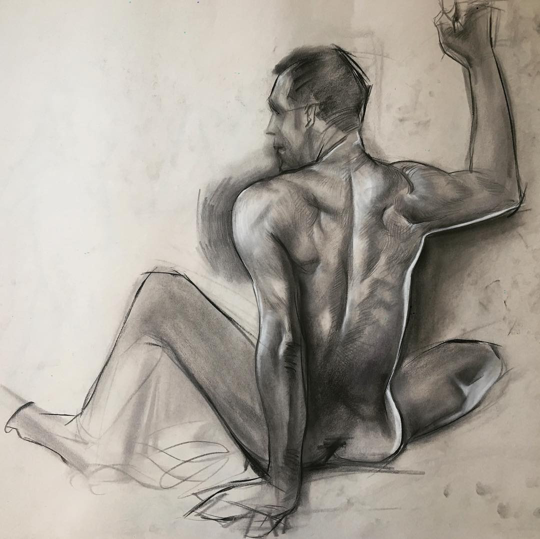 Life Drawing Render