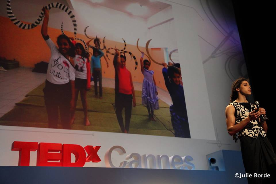 TedXCannes, The benefits of Juggling
