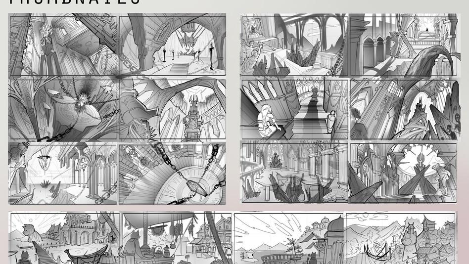 Layout Design Thumbnails