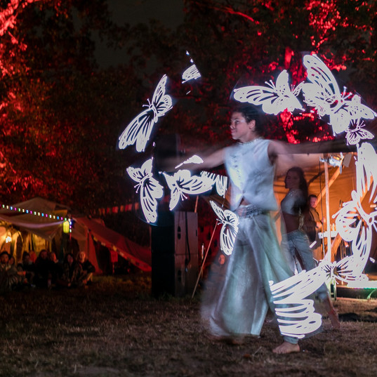 Prisma Led Show at New Healing Festival